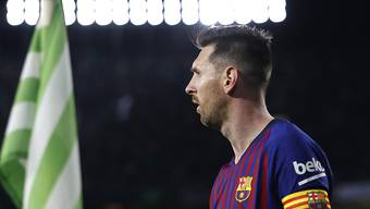 Lionel Messi war einmal mehr nicht zu halten