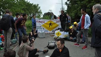 Marschieren für Migranten