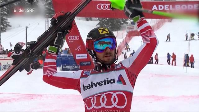 Marcel Hirscher gewinnt Riesenslalom erneut