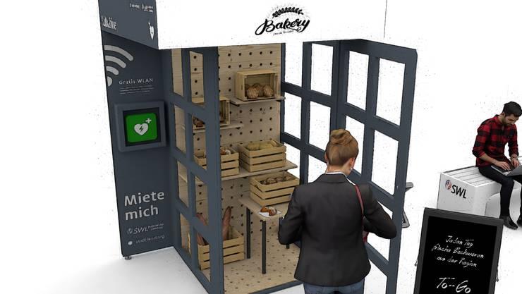 Die einstigen Swisscom-Telefonkabinen werden zu Showrooms umgestaltet.