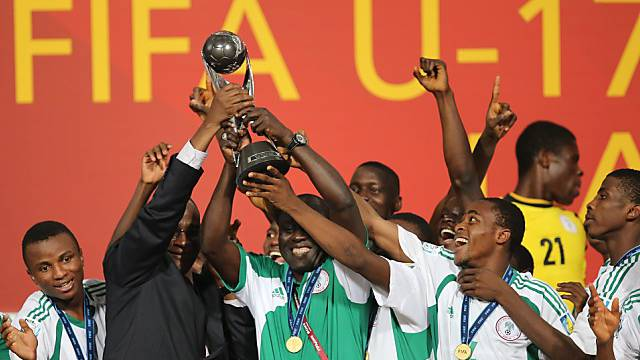 Nigerias Nachwuchsspieler erneut Weltmeister.