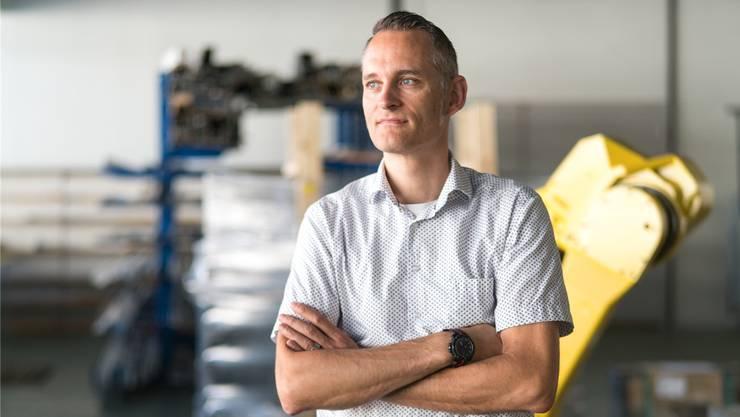 «Jetzt geben wir nochmals richtig Gas»: Nick Koch (47). Mario Heller