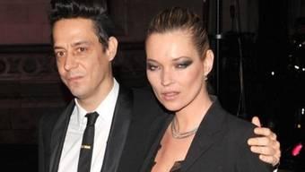 Wollen heiraten: Jamie Hince und Kate Moss (Archiv)