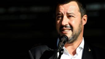 Sieg für Premierminister Matteo Salvini: Das italienische Parlament hat am Mittwochabend das verschärfte Einwanderungsrecht unter Dach und Fach gebracht. (Archivbild)