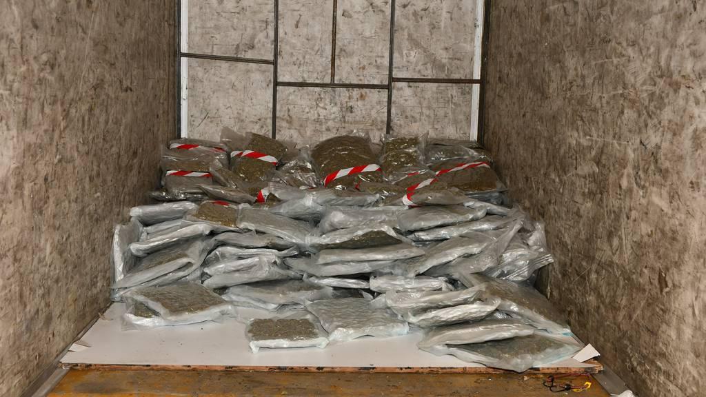 Beschlagnahmtes Marihuana aus Car