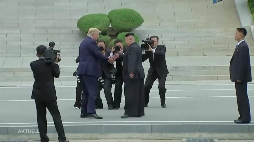 Trump in Nordkorea: Das gab es bis heute noch nie