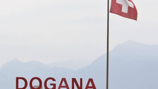 Grenzübergang von Italien in die Schweiz in Ponte Tresa (Archiv)