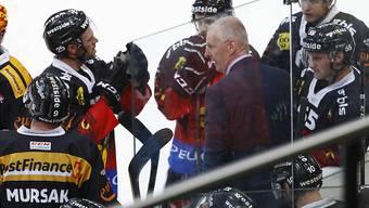 Kari Jalonen steht mit dem SC Bern in einer schwierigen Phase