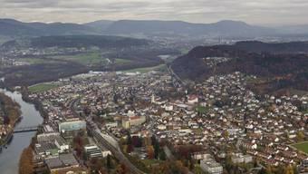 Das Jura-Südfussgebiet, hier bei Schönenwerd (Archiv)