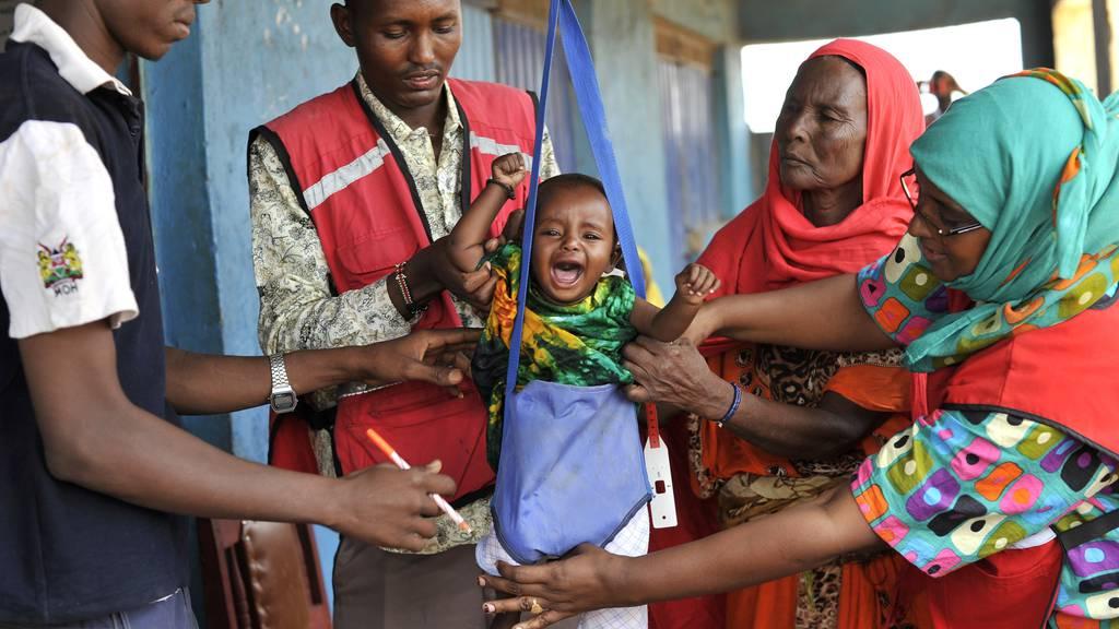 Nationaler Sammeltag «Hungersnot in Afrika»