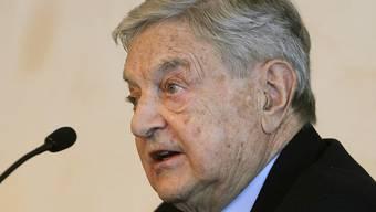 18 US-Milliardäre, darunter George Soros, wollen mehr Steuern bezahlen. (Archivbild)