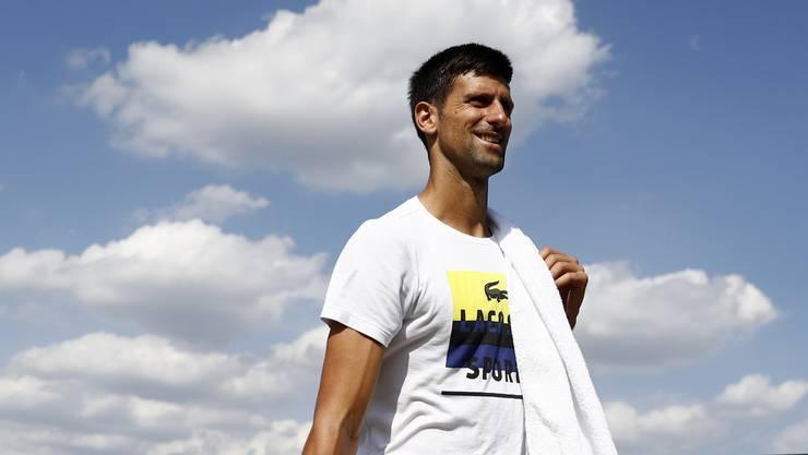 Novak Djokovic. Saisonende wegen Verletzung am Ellbogen.