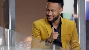 """Der Traum des brasilianischen Fussballspielers Neymar wird wahr: Er spielt eine kleine Rolle in der Serie """"Haus des Geldes""""."""