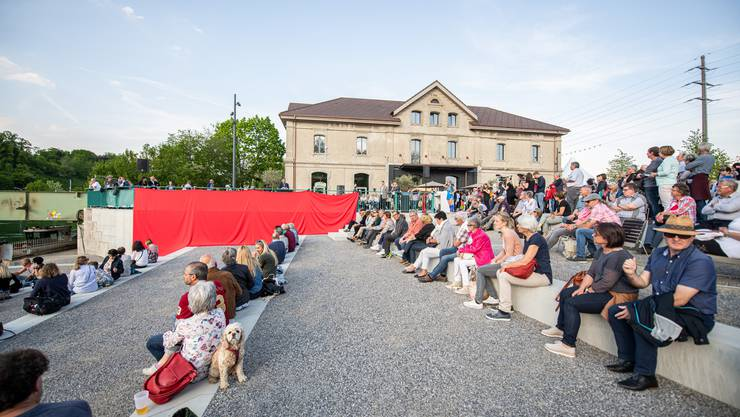 Eröffnungsfest Uferpark am 24.Mai 2019 in Luterbach