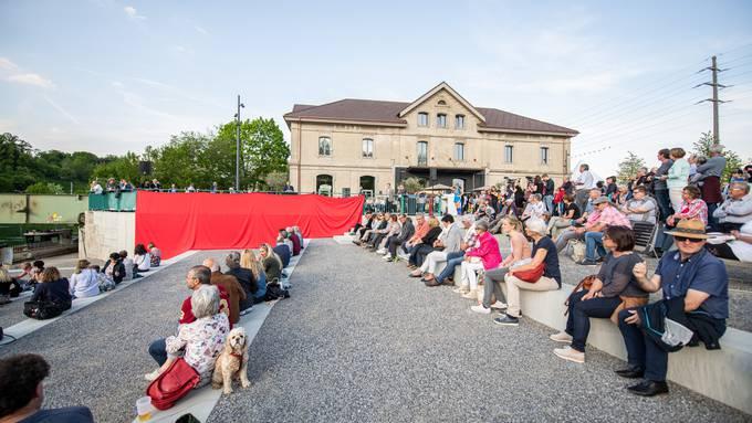 Eröffnungsfest Uferpark am Freitag