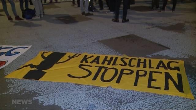 «Kahlschlag stoppen»