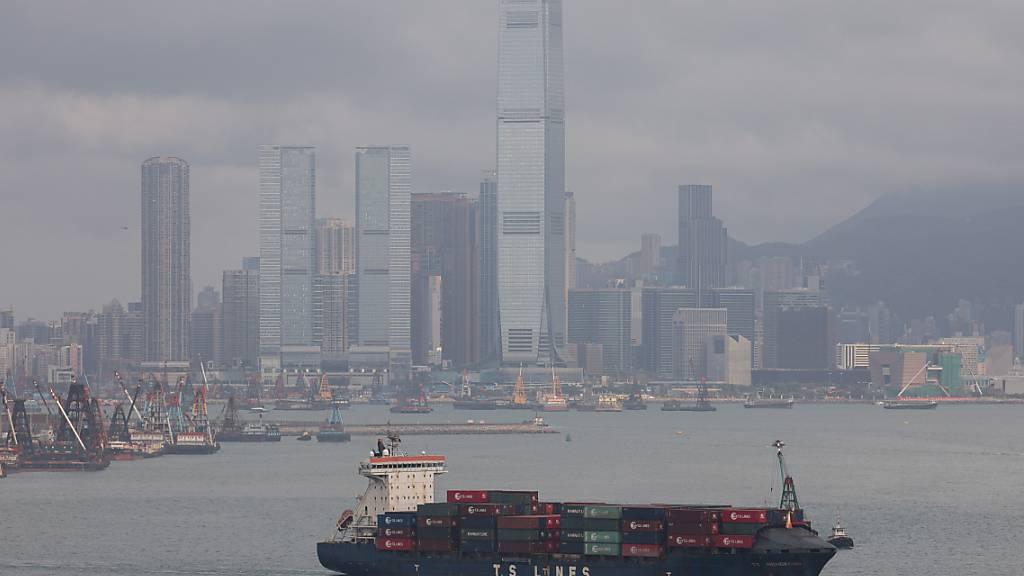 Die globale Konjunkturerholung lässt Chinas Exporte überraschend stark steigen. (Archiv)