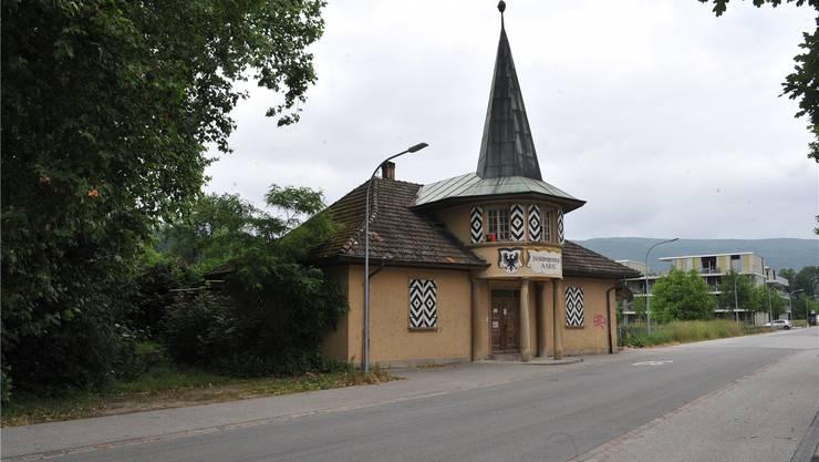 Das denkmalgeschützte alte Schützenhaus wird saniert und zum Quartierbistro umgebaut.