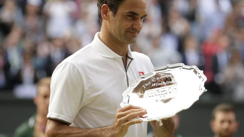 Mehr Wut als Enttäuschung bei Roger Federer