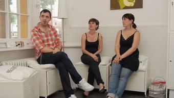 Abwarten: Philippe Kuhn, Steffi Kessler und Patricia Itel hoffen auf finanziellen Support. (Walter Schwager)