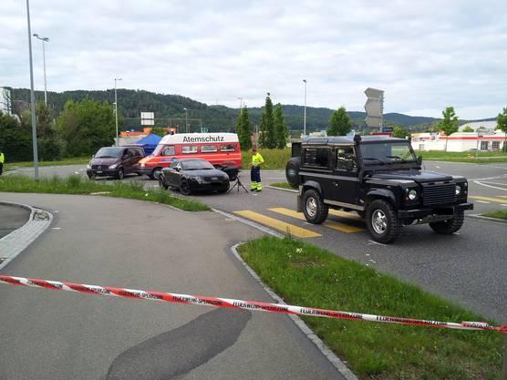 Die Unfallstelle war für mehrere Stunden abgesperrt.