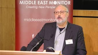 Jamal Khashoggi Ende September an einer Konferenz in London.