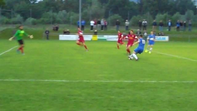 Brandenberger trifft zum 2:0 für Oetwil-Geroldswil
