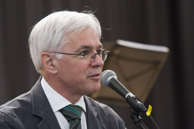 Begrüssung durch Rektor Franz Widmer