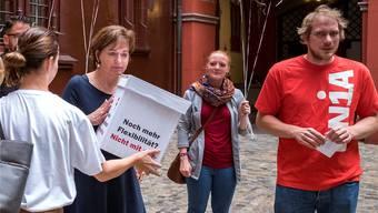 «Dass nun das Personal das Versagen der Novartis -Chefetage bezahlen muss, ist nicht tragbar», sagt Thomas Leuzinger, Bereichsleiter Politik und Kommunikation der Unia Region Aargau-Nordwestschweiz.