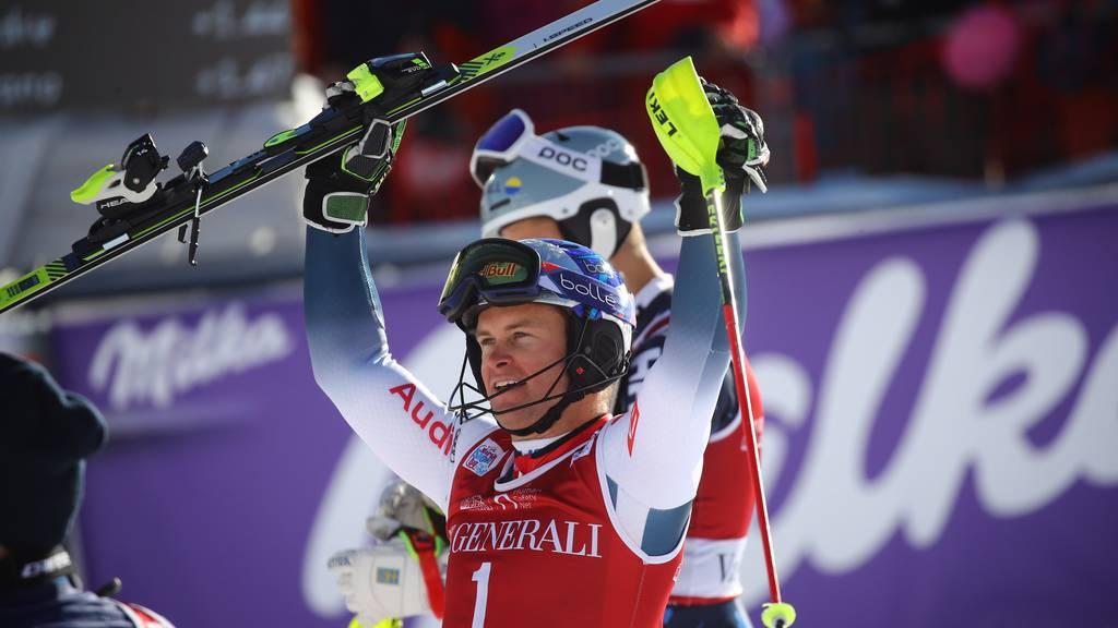 25. Weltcupsieg von Pinturault - Schweizer neben dem Podest
