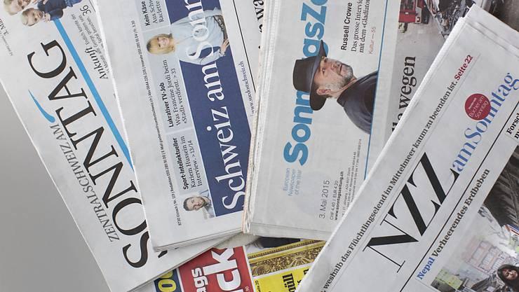 Die Aktion #SchweizerAufschrei beschäftigt die Sonntagszeitungen. (Archivbild)