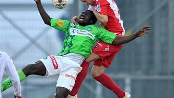 St. Gallen nach der Niederlage in Sitten weiter in Rücklage