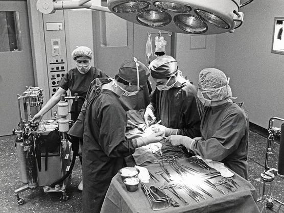 Der Operationssaal