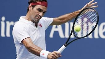 Roger Federer brach den Widerstand des Franzosen Benoit Paire