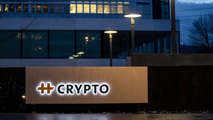 Der Hauptsitz des Chiffriergeräte-Herstellers Crypto in Steinhausen.