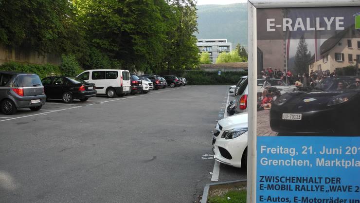 Entwicklung steuern: Die Stadt hat kürzlich auch den so genannten Post-Parkplatz gekauft.