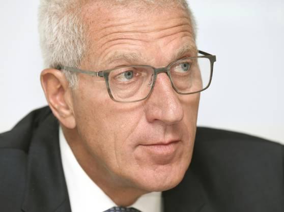 Der langjährige Raiffeisen-Chef Pierin Vincenz.