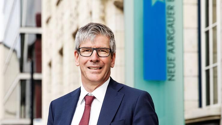 Roland Herrmann, CEO der Neuen Aargauer Bank