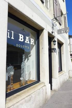 Ganz neu da: «Il Bar Soletta» ist in den ehemaligen «Spielhimmel» gezogen.