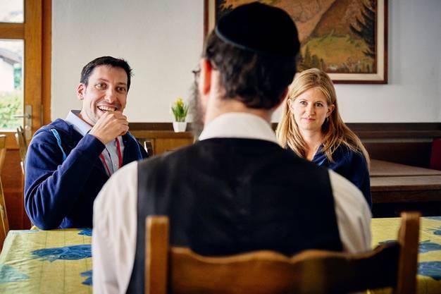Bis zu 100'000 Übernachtungen zählt Saas-Grund dank jüdischer Touristen.