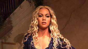 """Das Wachsfigurenkabinett von Madame Tussauds in New York fühlte sich offenbar bemüssigt, Beyoncé """"weiss zu waschen"""". Die Twittergemeinde schätzt das gar nicht. (Tussauds Twitter)"""