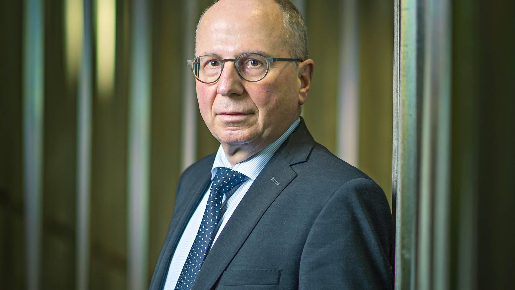 SP Justiz- und Polizeidirektor Fredy Fässler war gegen die Vorlage.