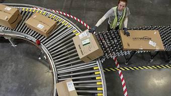 Versandhandel des Marktriesen Amazon floriert