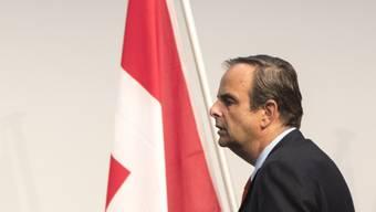 """""""Ich werde nicht, ich will nicht, ich kann nicht, ich muss nicht"""": CVP-Parteipräsident Gerhard Pfister zu einer möglichen Kandidatur als Bundesrat."""