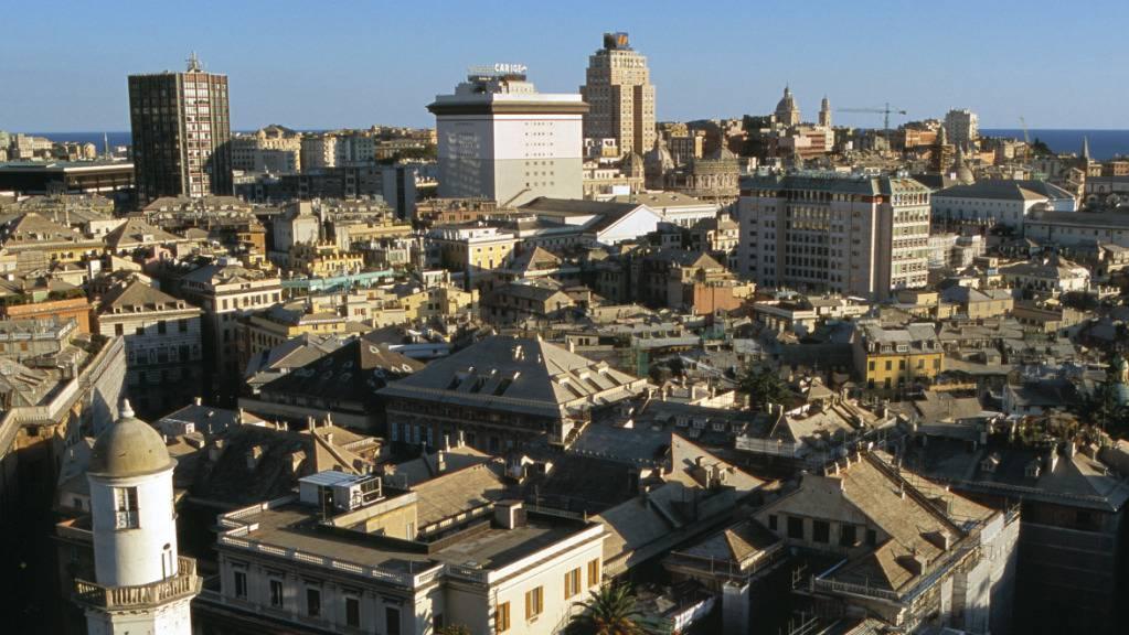 Die Hafenstadt Genua ist die Haupstadt der Region Ligurien. (Symbolbild)