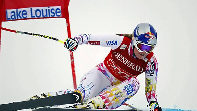 Lindsey Vonn dominierte die Konkurrenz auch im Super-G