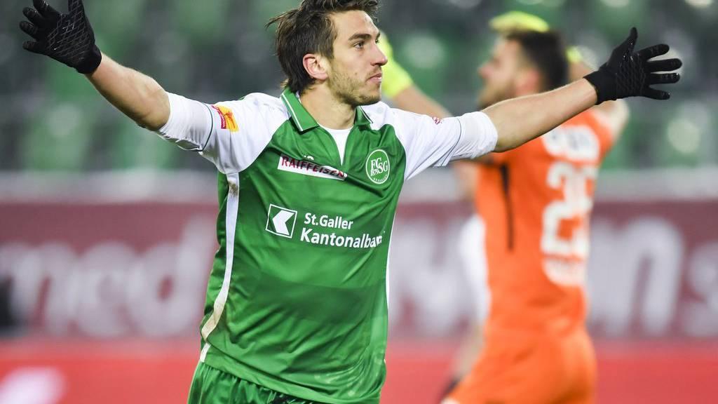 Simone Rapp kam in der Winterpause zum FC St.Gallen.
