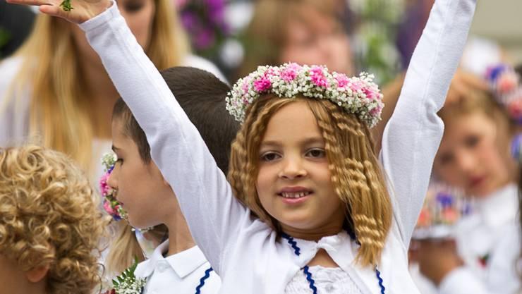 Am Lenzburger Jugendfest wird wieder getanzt.ARCHIV/PASCAL MEIER