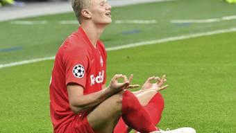 Erling Haaland schiesst für Salzburg Tor um Tor