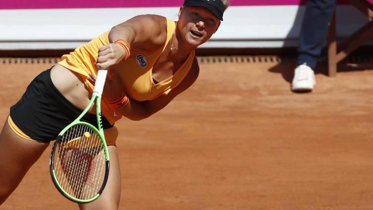 Kiki Bertens gewann in Gstaad bislang acht von neun Einzeln